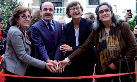 Le programme «Moucharaka Mouwatina» a été présenté en présence de Claudia Wiedey, de Maria Carmen Coutti et de Saloua Koubaiti, ainsi que de Ilyas Omari, président de la région de Tanger-Tétouan-Al Hoceïma.