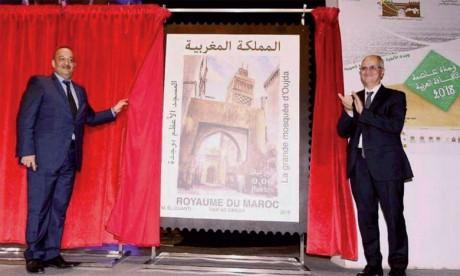 Émission de quatre timbres postaux pour marquer l'événement