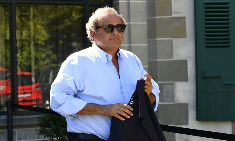 """Platini porte plainte contre X pour """"dénonciation calomnieuse"""""""