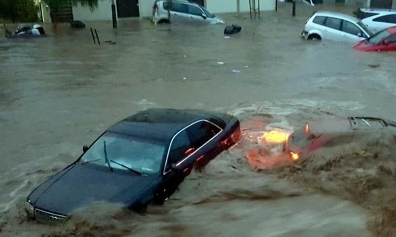 Des témoins affirment avoir vu des personnes en détresse en raison des débordements des cours d'eau dans cette région des îles Baléares. Ph : DR