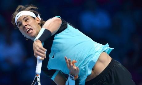 Tennis:  Nadal conserve sa place en tête du classement ATP