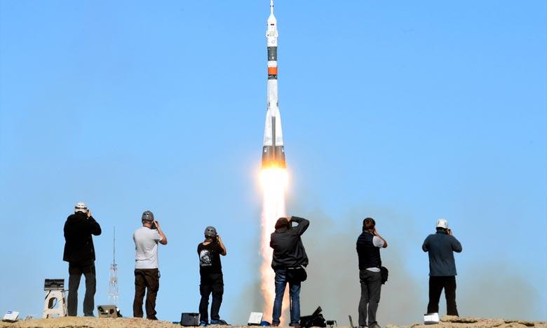 La fusée Soyouz MS-10 emportant l'astronaute américain Nick Hague et le cosmonaute russe Alexeï Ovitchinine vers la Station spatiale internationale a connu une défaillance de ses moteurs après son décollage. Ph : DR