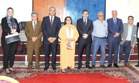 Installation des membres du jury  de la deuxième édition
