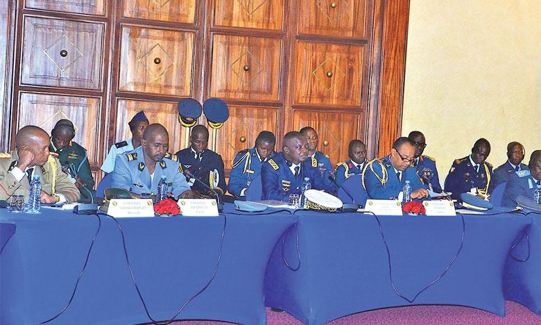 Clôture à Marrakech du huitième Symposium des chefs d'État-major  des Armées de l'air africains