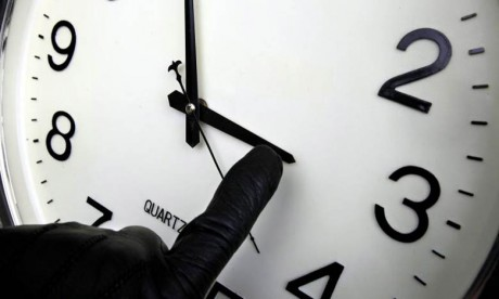Rappel : ne changez pas vos montres aujourd'hui