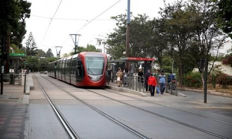 Intempéries : Arrêt du Tramway de Casablanca
