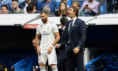 Le technicien Julen Lopetegui risque de perdre celui d'entraîneur du Real Madrid, dans une semaine cruciale entre Ligue des champions mardi et clasico dimanche à Barcelone. Ph : AFP