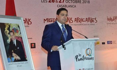 Nasser Bourita: «Le Maroc n'a jamais été, n'est pas et ne sera jamais le gendarme de qui que ce soit»