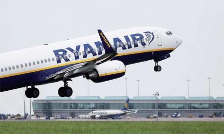 Ryanair lance la vente d'1 million de sièges à 109 DH