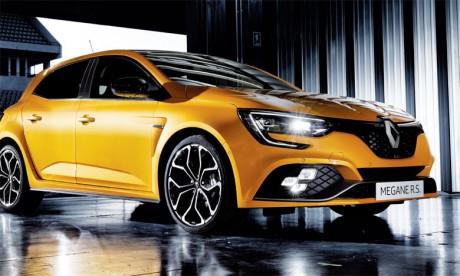 Expressive et sportive, la nouvelle Mégane R.S. s'affirme avec un design au service de la performance jusque dans les moindres détails.
