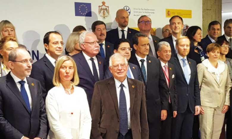 Le Maroc affirme que l'Union pour la Méditerranée ne doit plus «rester aveugle, sourde et muette» face aux défis de la région