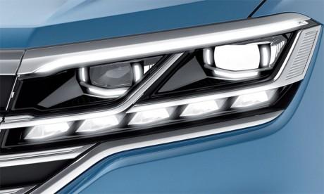 Volkswagen s'appuie sur  des phares à LED ultra modernes