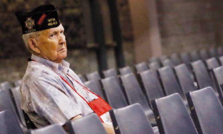 Après la guerre, le combat politique: les anciens soldats américains visent le Congrès