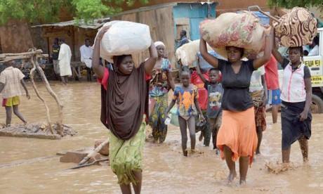 La saison des pluies tire à sa fin au Niger. En dépit de sa courte durée et de la faiblesse des précipitations, ce pays fait face depuis quelques années à des inondations, y compris dans les zones désertiques du Nord.  Ph. AFP