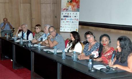 Les intervenants lors de cette rencontre se sont concentrés sur le harcèlement dans le cinéma.