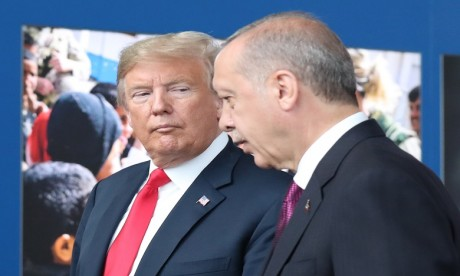 Erdogan espère relancer la relation avec Washington