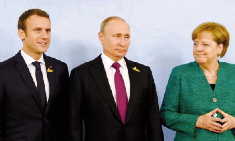Sommet Erdogan-Poutine-Macron-Merkel  à Istanbul le 27 octobre