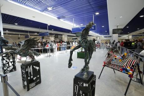 Le Cheval à l'honneur dans les aéroports de Casablanca et de Rabat-Salé