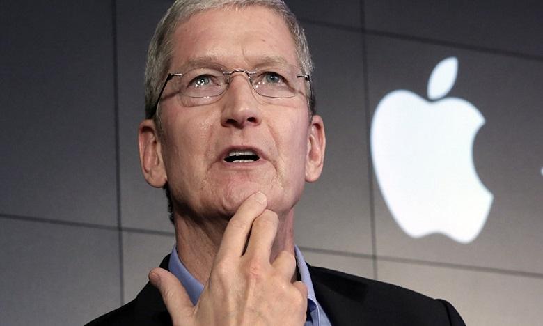 Le patron d'Apple Tim Cook est en faveur d'une législation sur la protection des données privées aux Etats-Unis. Ph: DR