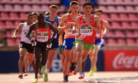 Anas Essayi termine 2e du 1.500m et offre une 3e médaille au Maroc