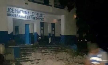 Un séisme de magnitude 5.9 a été enregistré, à une vingtaine de kilomètres au nord-ouest au large de Port-de-Paix. Ph : DR