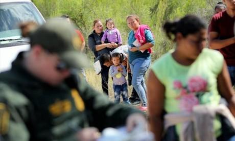 Le président américain n'a pas dit envisager de nouvelles séparations à la frontière américano-mexicaine. Ph : AFP