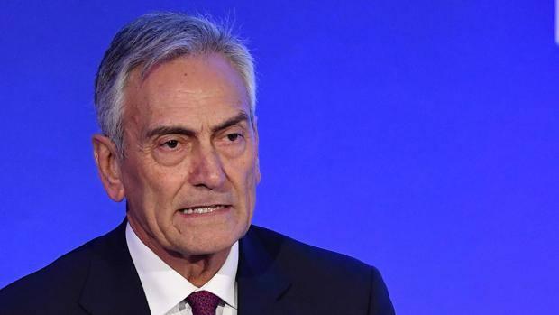 Gabriele Gravina, nouveau président de la fédération italienne de football
