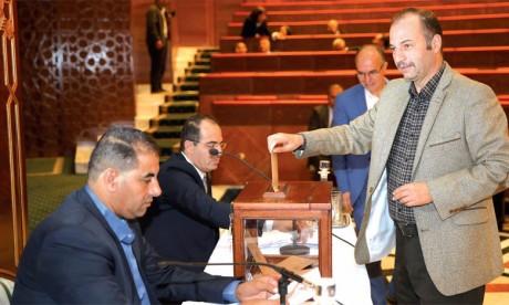 Élection des membres du bureau et des présidents des commissions permanentes