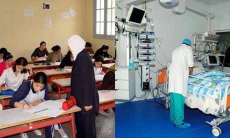 Le projet de loi de finances «PLF» propose la création de 25.458 postes budgétaires, dont 200 réservés aux personnes en situation de handicap, en plus de 15.000 postes contractuels dans le secteur de l'enseignement. Ph : DR