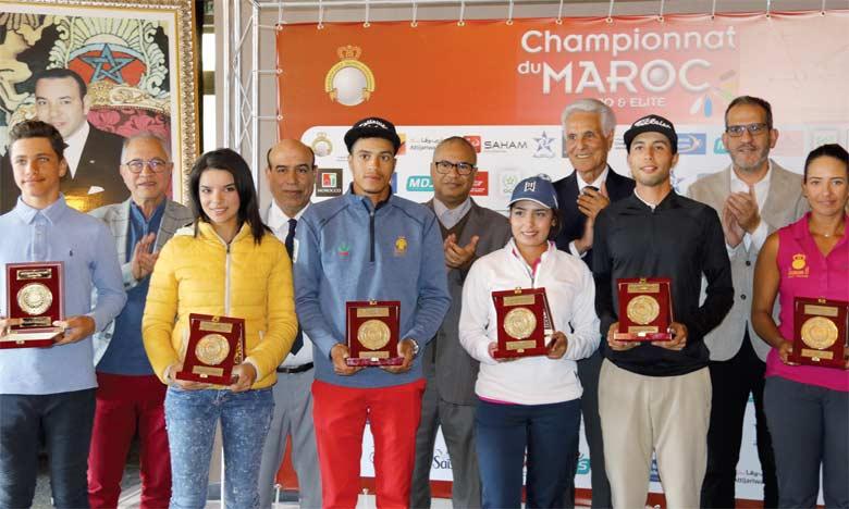 Le jeune âge des lauréats augure de bonnes choses pour l'avenir du golf marocain.