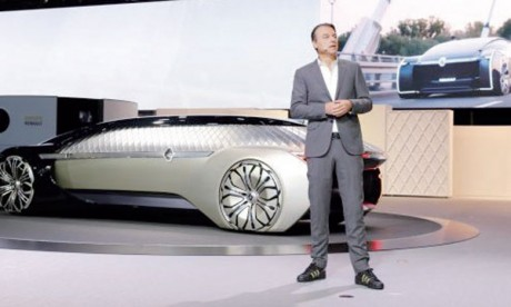 Le concept EZ-Ultimo ouvre de nouvelles perspectives pour le design de Renault et donne vie aux gènes Easy Life de la Marque.
