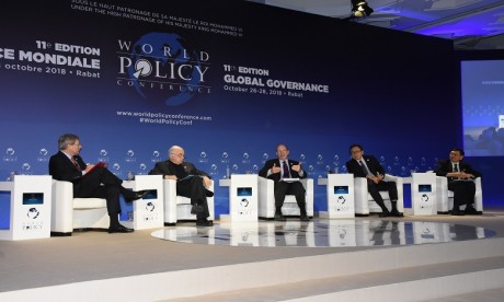Démarrage des travaux de la World Policy Conference à Rabat