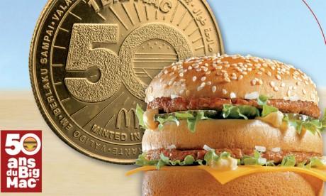 Une monnaie MacCoin pour les 50 ans du Big Mac
