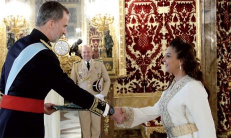 Mme Karima Benyaich,  Ambassadeur du Maroc en Espagne