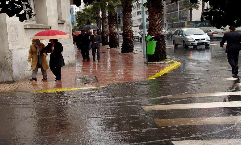 La DMN précise que des pluies et averses éparses sont prévues et la mer agitée à forte entre sur les côtes atlantiques entre Larache et Tan-Tan, peu agitée à agitée entre Tarfaya et Boujdour. Ph : DR