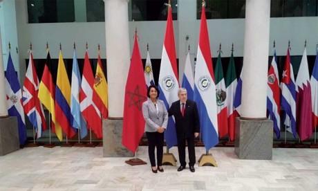 Tenue de la première session des consultations politiques Maroc-Paraguay
