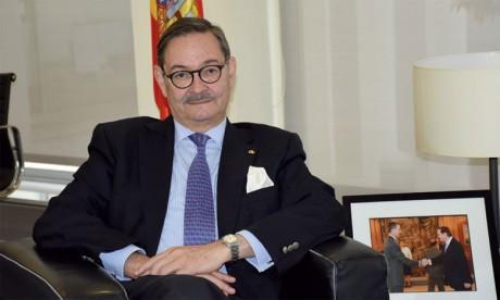 Ricardo Diez Hochleitner, ambassadeur d'Espagne au Maroc : «Le développement constant des relations institutionnelles a aussi eu un impact sur le développement de nos relations économiques»