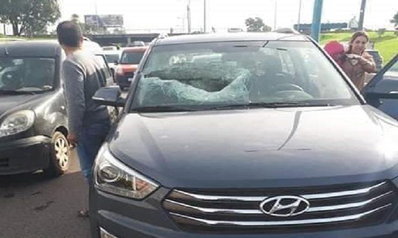 Casablanca : L'autoroute bloquée après l'accident du pont