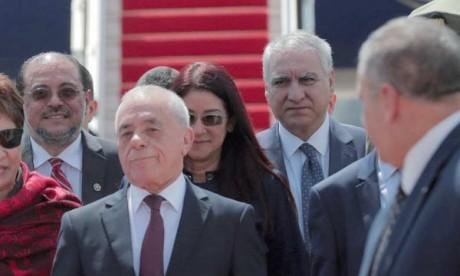 L'actuel président du Parlement algérien, Saïd Bouhadja (au centre), s'est dit «pas pressé  de démissionner»  Ph. Reuters