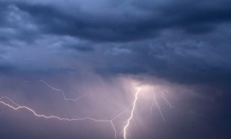 Des averses orageuses localement fortes attendues du jeudi au vendredi