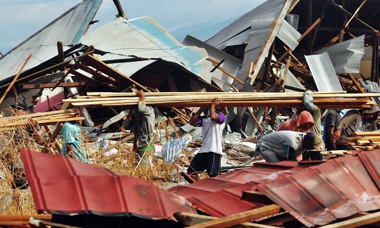 Cette annonce fait suite à une série de catastrophes naturelles partout dans le monde, dont plusieurs ouragans et séismes meurtriers, notamment fin septembre en Indonésie. Ph. AFP