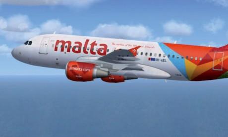 Air Malta atterrit de nouveau  au Maroc après dix ans d'absence