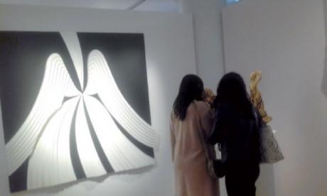 Exposition de sculptures à la Galerie Banque Populaire