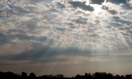 Ciel nuageux avec averses de pluie ce mercredi