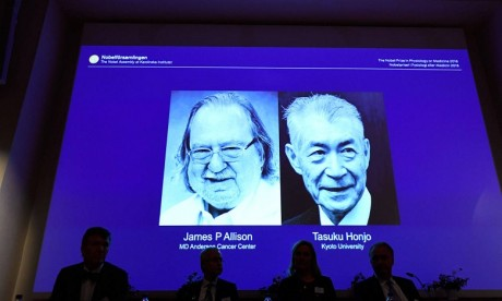 Le prix Nobel de médecine 2018 dévoilé