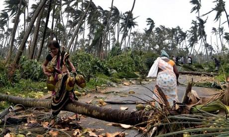 Tempête cyclonique: «Titli» fait 77 morts en Inde