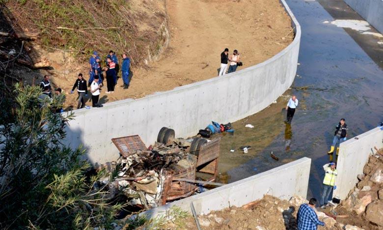 Turquie :  L'accident d'un véhicule de migrants fait 15 morts