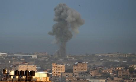 Israël lance des raids aériens contre Gaza