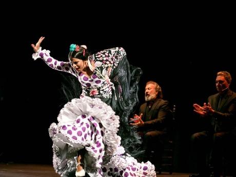 La danseuse Maria Moreno. Ph. DR