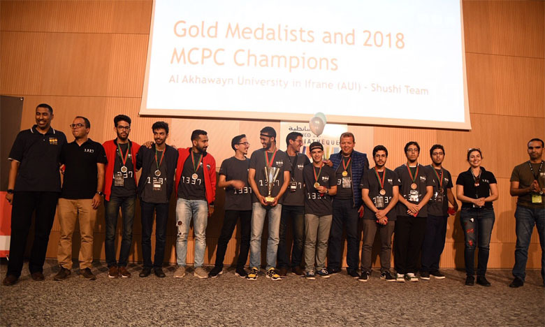 L'équipe de l'Université  Al Akhawayn arrive en tête de la compétition